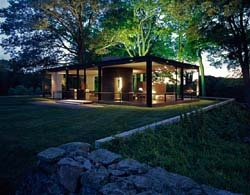 JULIUS SHULMAN, JUERGEN NOGAI - Philip Johnson Glass House, National Trust Historic Site, New Canaan, CT, 2007